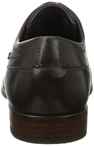 Bugatti 312294021100, Scarpe Stringate Uomo Marrone (Dark Brown)