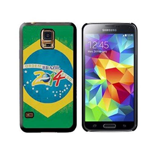 Schutzhülle Farbe Schutzhülle für Samsung Galaxy S5, Dekoration: Brasilien 2014