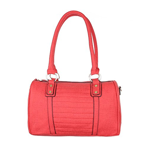 A In Donna Borsa Tac54 Italdesign Borsa Rossa Media Similpelle Mano 6xPdAPO