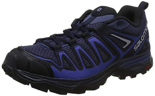 Salomon X Ultra 3 Prime W, Stivali da Escursionismo Donna, Blu Crown Night Sky/Spectrum Blue, 38 EU