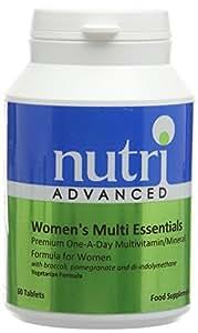 Nutri 50mg Multi Essentials Womens 60 Tablets