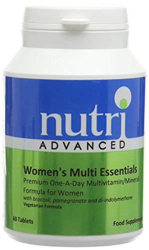 Nutri 50mg Multi Essentials Womens 60 Tablets