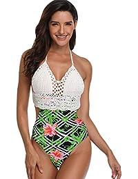 Amazonit Top Uncinetto Costumi Interi Mare E Piscina
