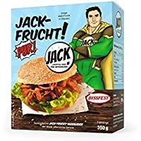 JACK-FRUCHT PUR!BISSFEST, Jackfrucht, junge Jackfrucht, Jackfruit, 350 g vakuumiert, (1 x 350 g Beutel)