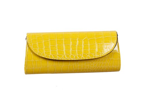 Bundle Monster, Poschette giorno donna Small Giallo (Mustard Yellow)