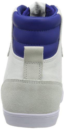 Hummel Fashion - Chaussures Hummel 'Slimmer Stadil High', de sport - HUMMEL SLIMMER STADI Blanc (White/Blue/Red/Gum)