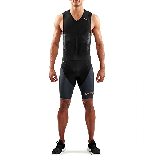 Skins Herren DNAmic Triathlon Tri Suit XS Black/Carbon