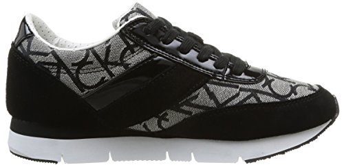 Calvin Klein Jeans Tea, Baskets mode femme Gris (Grb)