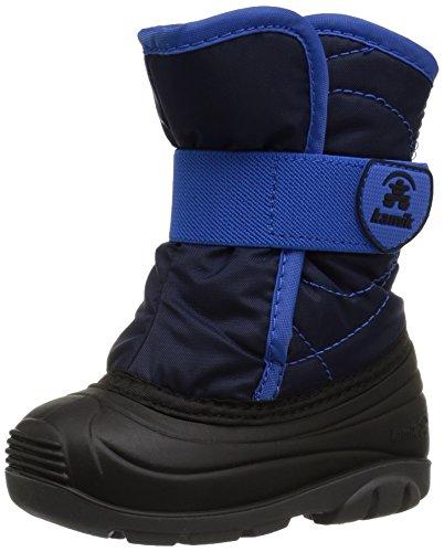 Kamik Unisex-Kinder SNOWBUG3 Schneestiefel, Blau (Navy-Marine Na2), 24 EU