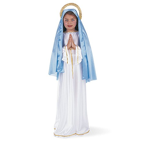 Maria Kostüm Jungfrau Mädchen - Limit Sport Jungfrau Maria-Kostüm für Mädchen-7-9Jahre