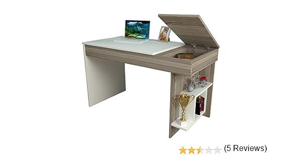 Tavolo Ufficio Fai Da Te : Hidden scrivania avola bianco scrivania per computer