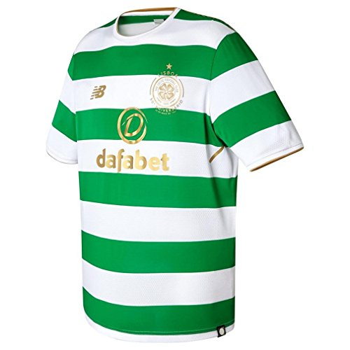 New-Balance-Mens-Cfc-Home-Short-Sleeve-Football-Shirt-White-X-Large