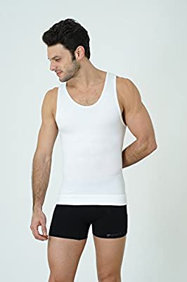 UnsichtBra Compression Muscle Tank. Shapewear for Men (sw_7100)
