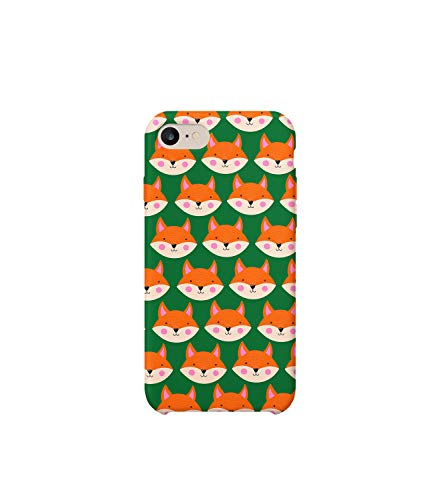 Cute Brown Fox Full Pattern_A0208 Case Handyhülle Hülle for Huawei P10 Protective Protection Drop Proof Case Handyhülle Hülle Cover Compatible with Huawei P10