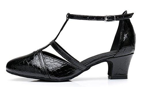 TDA - Sandali con Zeppa donna 5cm Heel Black