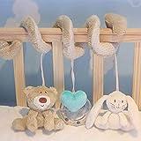 Kongqiabona Multifunktionale Neue Baby Kinder Weichem Plüsch Cartoon Spielzeug Tier Rasseln Bett Krippe Entwicklungs Hängen Spielzeug Baby Mobile Geschenke