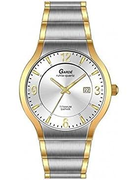 Uhr - Quarz - Titan - Elegance 13564 - bicolor