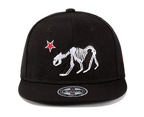 WUKE Hi8 Baseball Cap for Men and Boys 3D Embroidery Adjustable Snapback  Hats Hip-Hop e8fd70c6006
