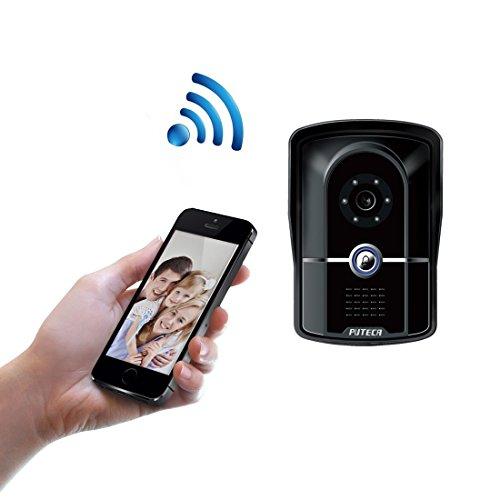 PUTECA Wireless 2.4G WIFI 700TVL 5 IR LED Night vision Camera WiFi Remoter 3G/4G Android/IOS OS Mobile phone APP Control P2P Cloud Service IP Video Door Phone Doorbell Intercom System