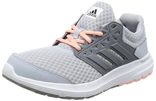 adidas Galaxy 3 W, Scarpe da Corsa Donna, Grigio (Clear Grey/Grey/Still Breeze), 38 EU