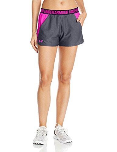 Under Armour 1292231 Short Femme Rhino Gray/Tropic Pink