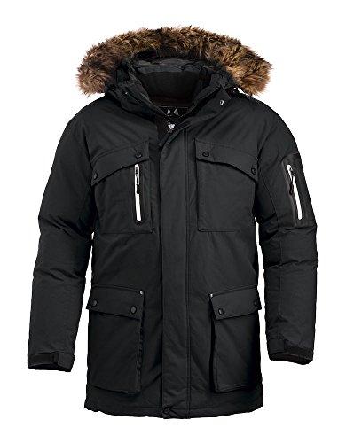 Swedish Brands Extreme Weather Parka Sizes XXS - XXXL (M, Black)