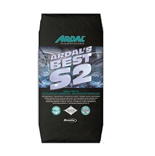 Bostik Ardaflex S2 Premium Ardals Best S2 Fliesenkleber-Dünnbettmörtel 20 kg Sack