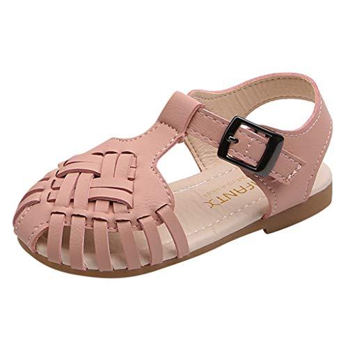 BURFLY-Baby, das hohlen weichen Boden Baotou Sandalen und Pantoffelprinzessin Schuhe Sandalen beiläufige Schuhe spinnt