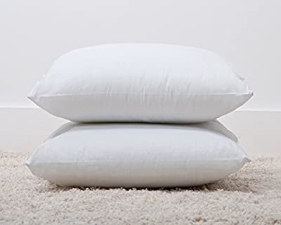 "Luxury Polycotton Bounce Back Fibre Cushion Pads (18""x 18"") (4 Pack) Made by Bedding Direct - low-cost UK light shop."