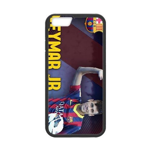 Neymar 004 coque iPhone 6 Plus 5.5 Inch Housse téléphone Noir de couverture de cas coque EOKXLKNBC20683