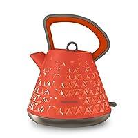 Orange, Kettle: Morphy Richards 108106 Prism Kettle