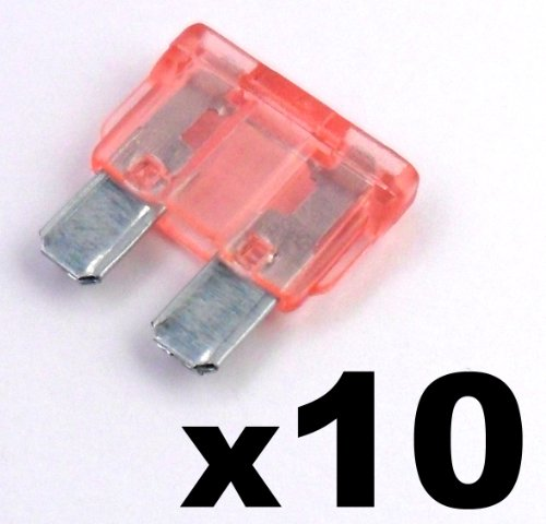 10 x Pink 4 A 4 Amp Standard ATO Blade Fuse für 12 V/24 V Auto, Van, Truck & Boot - Frei First Class UK Porto. 24vac 4 Amp