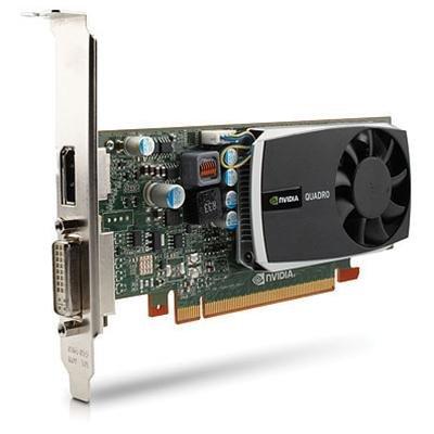 Nvidia Quadro 600 Professionelle Grafikkarte für CAD- und DCC-Anwendungen (1GB DDR3 RAM, 128-Bit 25,6GB/s Bandbreite, 96 CUDA Cores, PCI-E PCI Express 2.0 x16, Dual Link DVI-I und 1xDisplayPort, Dell Produktnummern: 4J2NX, 5YGHK, PWG0F, 65VT4)