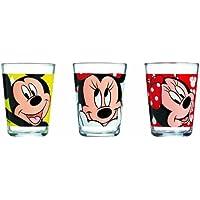 Luminarc - Set di 3 bicchieri per bambini serie Minnie