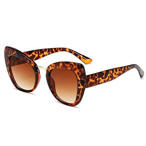 Taiyangcheng Cat Eye Sonnenbrillen Frauen Druckbuchstaben Liebe Eyewear,schildkrötenbraun