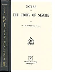 Notes on the story of Sinuhe