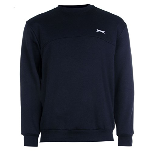 Slazenger - Pull - Col Rond - Manches Longues - Homme Bleu Marine