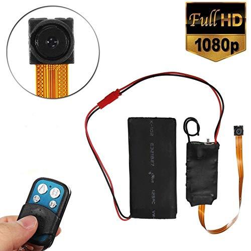 Preisvergleich Produktbild tradeshoptraesio® – Mini Micro Kamera 1080P IP Cam Spy SpyCam CMOS Full HD mit Fernbedienung