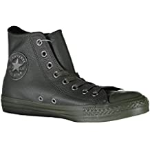 Scarpe unisex Converse All Star Hi Leather Monochrome fb32778a04d