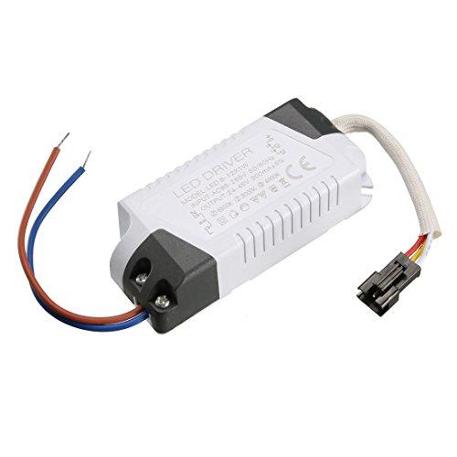 Sourcingmap Konstantstrom 300 mA LED Treiber AC 85-265 V Output 3-12 V Netzteil LED Deckenlampe Trafo 8-12W(1pcs) (5v Led-treiber)