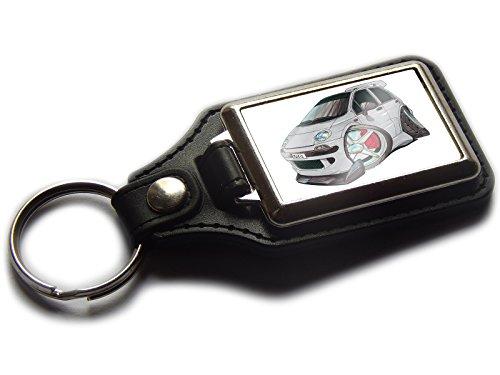 daewoo-matiz-sport-hatch-ruckseite-auto-premium-koolart-leder-und-chrom-schlusselanhanger-wahlen-sie