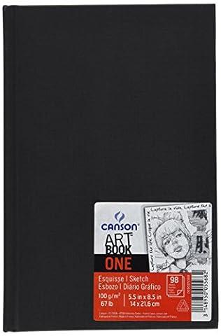 Canson Art Book One Carnet avec tranchefile Papier à dessin