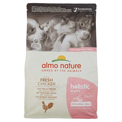 almo nature Holistic Dog Small Puppy con Pollo Secco Cane kg. 2