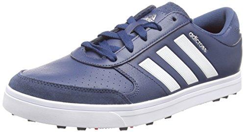 adidas Herren Adicross Gripmore Golfschuhe, Blau (Mineral Blue/White/ray Red), 40 2/3 EU