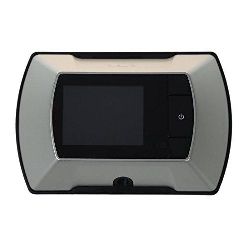 TOOGOO(R) 2.4 pulgada Monitor Digital de Puerta Mirilla De Alta Resolucion Camara DIY