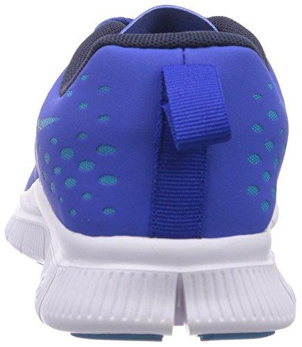 Nike Free Express 641862 Unisex-Kinder Sneakers Blau (Lyon Blue/Obsidian-Blue Lagoon-Bright Crimson)