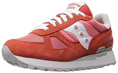 Saucony  Shadow Original-W, Chaussures Basses Femme - - Red/Coral, 36 EU EU