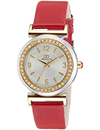 Gio Collection Analog Silver Dial Women's Watch - G2014-03