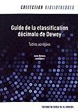 Guide de la classification decimale de Dewey