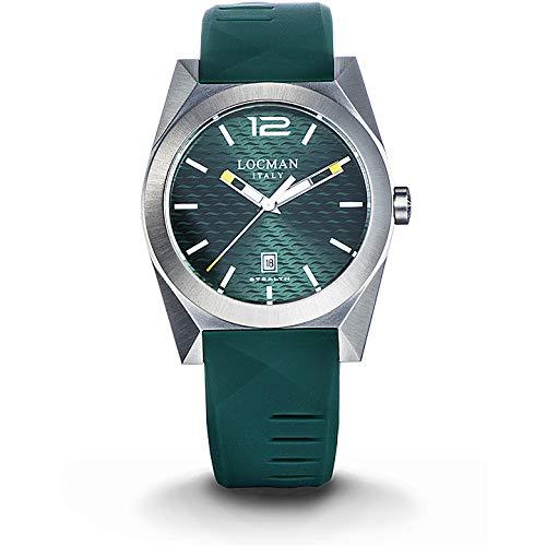 Reloj Locman Nuovo Stealth 0810A03S-00GRWHSG
